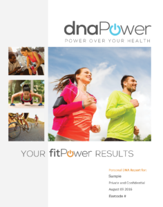 dnaPower fitPower report 1